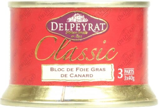 Bloc of duck foie gras Delpeyrat - 120g