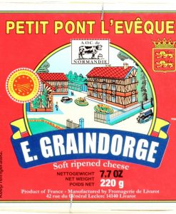 Pont-l'Eveque cheese, Graindorge - 220g