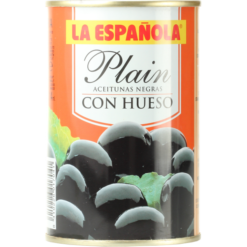 Plain black olives from Spain - 300g