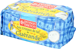 Butter with sea salt crystals, France - 250g