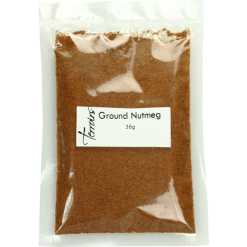 Ground Nutmeg, sealed bag- 38g