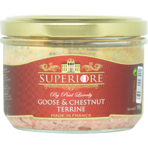Goose and chestnuts terrine P. LAREDY - 180g