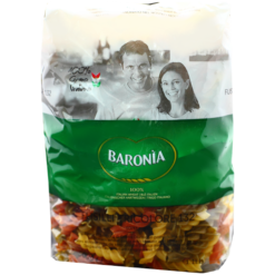Fusilli 3 colors pasta- 500g