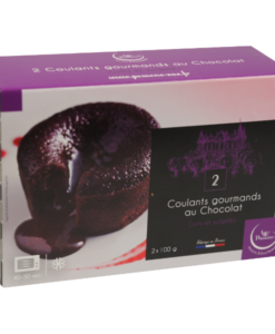 Frozen chocolate fondants - 2 x 100g