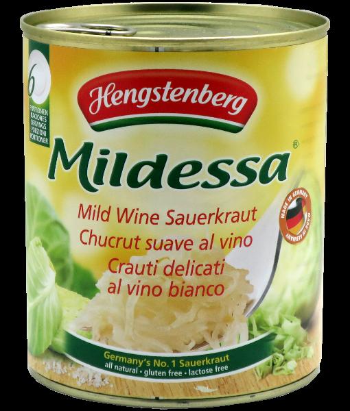 Mild Wine Sauerkraut - 810g