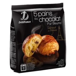 Frozen Chocolate croissants Delifrance - 5 pcs