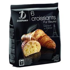 Frozen Butter croissants - 6 pcs