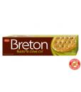 Breton wheat crackers Basil& olive oil