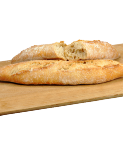 Frozen 5 x Half bread baguettes Rustic