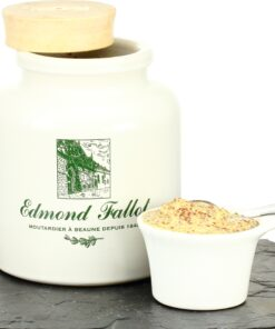 Old style grain Mustard E. Fallot, Clay Pot - 500g
