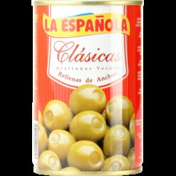 Green Olives stuffed with anchovies - 300g