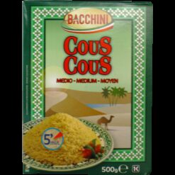 Couscous Medium Grain, Bacchini - 500g