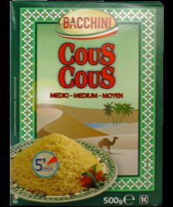 Couscous Medium Grain, Bacchini - 500g