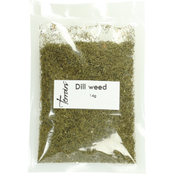 Dill weed, sealed bag - 14g