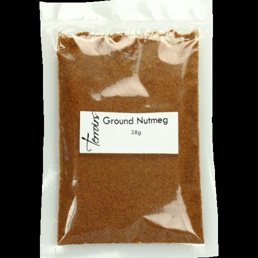 Ground Nutmeg, sealed bag- 38g