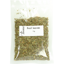 Basil dry leaves, sealed bag - 10g