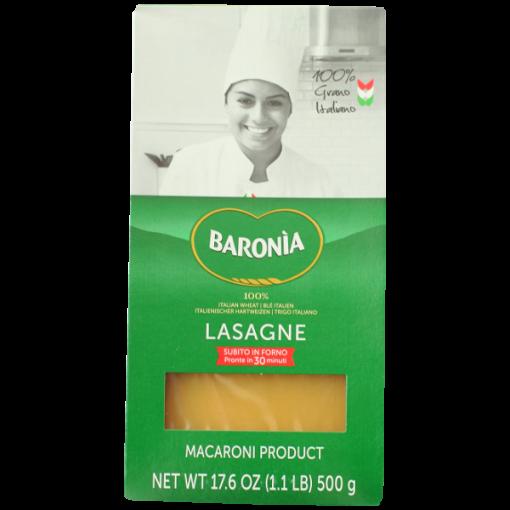 Lasagna pasta sheets - 500g