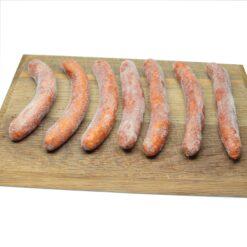 Frozen Merguez spicy sausage ~ 500g