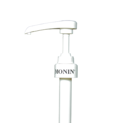 Monin 70cl glass bottle syrup pump - 5ml shot