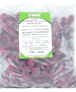 Frozen Raspberries williamette - 1Kg