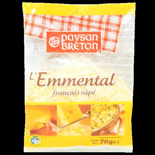 Shredded cheese Emmenthal - 70g
