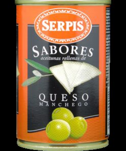Green olives Manchego cheese SERPIS, 300g