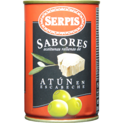 Green olives Tuna SERPIS, 300g