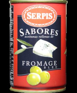 Green olives blue cheese SERPIS, 300g