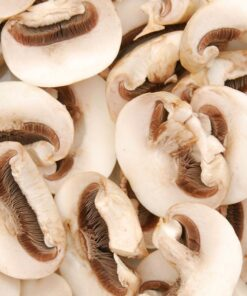 Frozen Sliced 'Paris' mushrooms - 400g