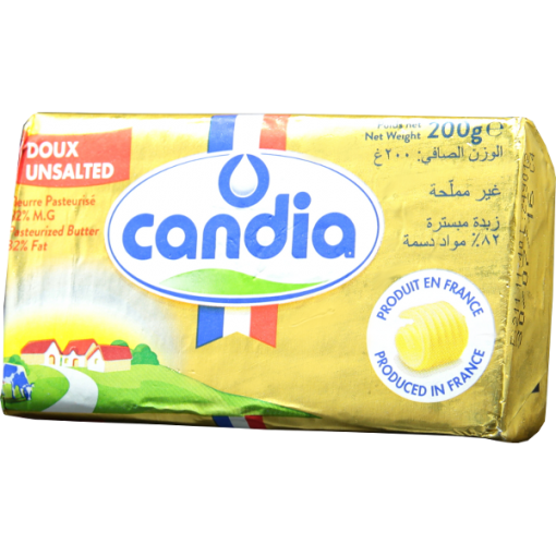 Unsalted butter Candia - 200g