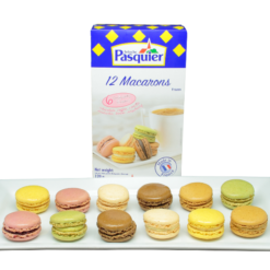 Frozen macarons - 12 pcs