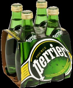 Perrier sparkling water - 4x 33cL