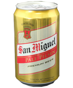 San miguel can - 33cL