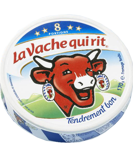 Laughing cow cheese - 128g