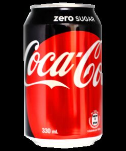 Coca Cola Zero can - 33cL