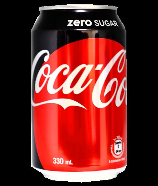 Coca Cola Zero can - 33cL