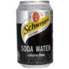 Schweppes Soda Water can - 33cL