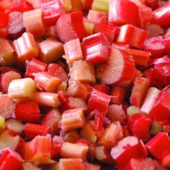 Frozen Rhubarb chunks - 1Kg
