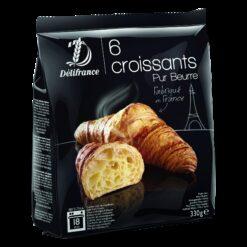Frozen Butter croissants - 6 pcs